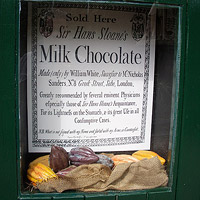 Chocolate window display
