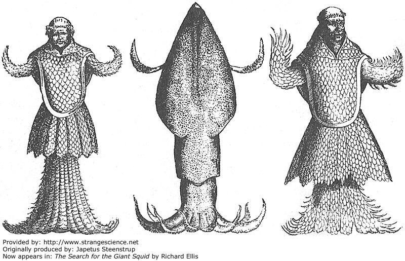 Antiguos monstruos marinos