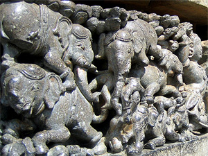 Defeated elephants