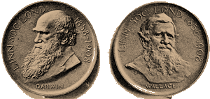 Medal front and back